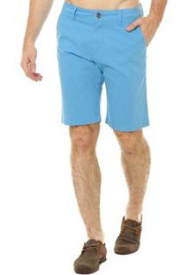 Bermuda Osmoze Casual Masculina - Masculino-Azul