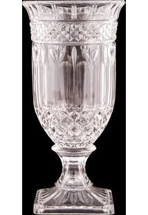 Vaso Decorativo De Cristal Sinaia