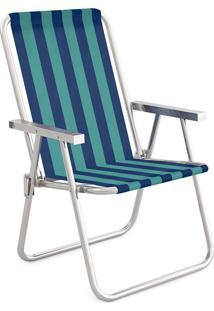 Cadeira Alta Conforto Alumínio 2235 Mor