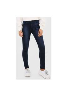 Calça Jeans Calvin Klein Jegging High Azul