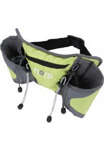 Pochete Nord Outdoor Waist Pack - Verde Claro/Cinza