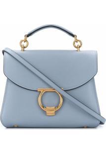 Salvatore Ferragamo Bolsa Tote Margot - Azul