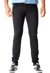 Calça Jeans Sawary Confort Preto