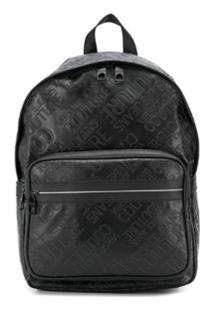 Versace Jeans Printed Backpack - Preto