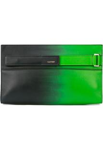 Lanvin Clutch Slim - Green