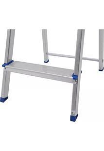 Escada Doméstica Dobrável 3 Degraus Em Alumínio 5101 - Mor
