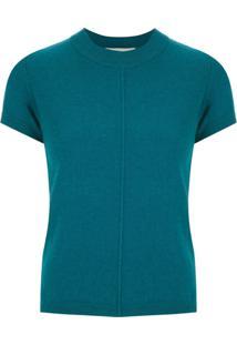 Egrey Blusa De Tricô De Lã - Azul