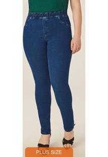 Calça Azul Jegging Jeans