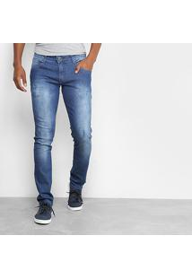 Calça Biotipo Slim Fit Soft Masculina - Masculino-Jeans