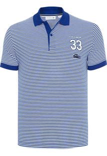 3d3007cbbe009 Shop2gether. Polo Azul Branca Masculina Lacoste Pique ...