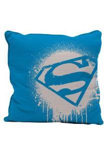 Capa Para Almofada - Dc Comics - Superman Logo - 45X45 Cm - Metrópole