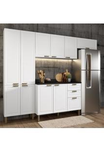 Cozinha Completa 5 Peças Americana Multimóveis 5682 Branco