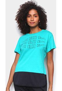 Camiseta Colcci Eye Feminina - Feminino