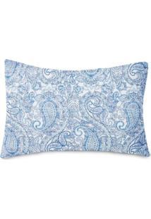 Fronha Avulsa Estampada Royal Santista Agra Azul Agra Azul