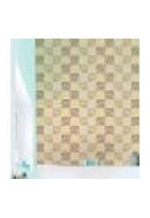 Papel De Parede Autocolante Rolo 0,58 X 3M - Azulejo Bolinhas 289188500