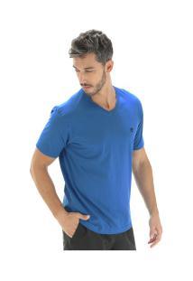 Camiseta Timberland Dunstan River V Neck Tee - Masculina - Azul