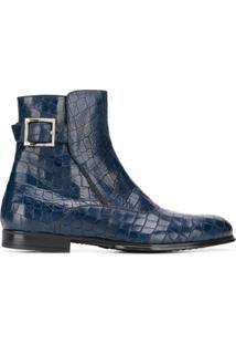 Cesare Paciotti Ankle Boot - Azul