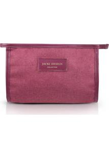 Necessaire Envelope Jacki Design Be You Vinho