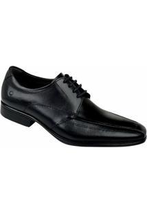 Sapato Masculino Social Democrata - Masculino-Preto