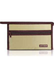 Necessaire Jacki Design Envelope Tam. G Lisa Ahl16073-Bg Bege T Un