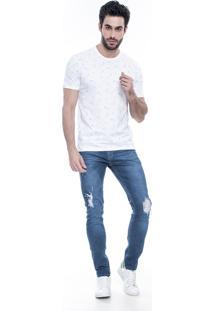 Calça Jeans Lemier Collection Skinny Azul