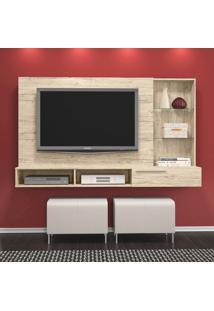 Painel Para Tv Ayla Até 55 Polegadas 265022 Rústico - Madetec