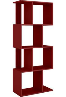 Estante Rack- Vermelha- 144X60X29,5Cm- Movel Benmovel Bento