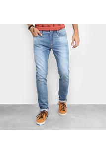 Calça Jeans Redley Barrel Masculina - Masculino