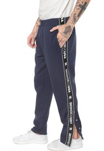 Calça Dc Shoes Reta Bellingham Track Pant Azul-Marinho