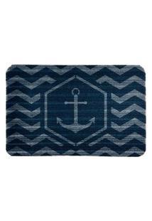 Capacho Carpet Âncora Azul Único Love Decor