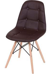 Cadeira Eames Eifeel Botone Or-1108– Or Design - Café