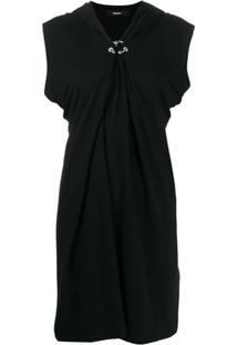 Diesel Draped Style Dress - Preto