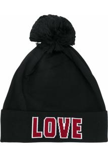 Dolce & Gabbana Gorro 'Love' - Preto