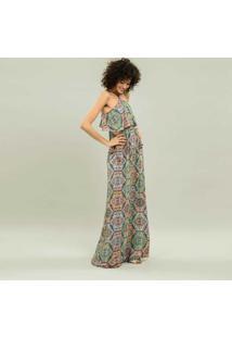 Vestido Longo Estampa Hippie - Lez A Lez