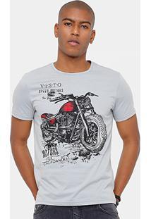 Camiseta Tigs Motorcycle Masculina - Masculino