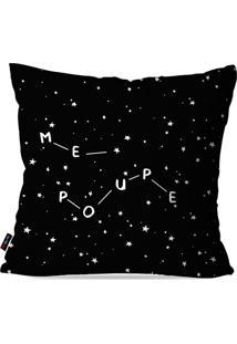 Capa De Almofada Avulsa Preto Constelaã§Ã£O Me Poupe 45X45Cm - Preto - Dafiti