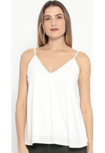 Blusa Lisa- Off White- Colccicolcci