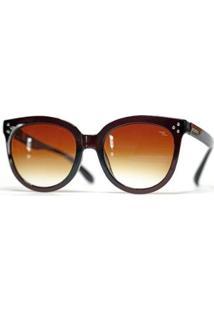 Óculos Nicoboco Saquarema Feminino - Feminino-Marrom