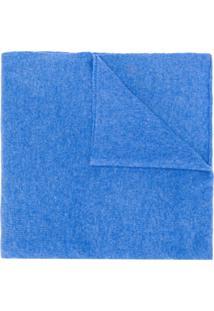 Dell'Oglio Echarpe Color Block - Azul