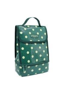 Necessaire Térmica Bolinha Verde Look Jacki Design