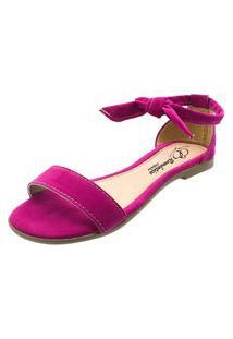 Sandália Romântica Calçados Pink