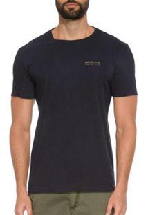T-Shirt Osklen Vintage Amazon Composition Masculina - Masculino-Preto