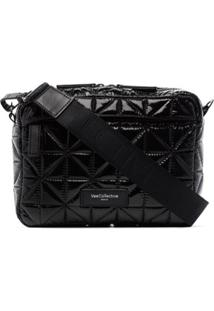 Veecollective Quilted Crossbody Bag - Preto