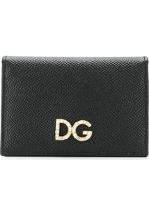 Dolce & Gabbana Carteira Dg - Preto