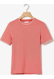Camiseta Lacoste Logo Coral - Kanui