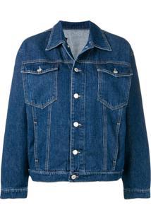Chiara Ferragni Flirting Eyes Denim Jacket - Azul