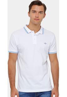 Camisa Polo Triton Piquet Bordado Frisos Masculina - Masculino