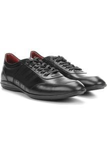 Sapato Casual Couro Jorge Bischoff Amarração - Masculino