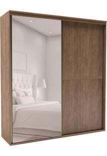 Guarda-Roupa Casal Com Espelho Sofisticato 2 Pt 6 Gv Ébano