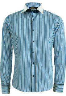 Camisa Gajang Premium Azul